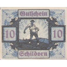 Schildorn O.Ö. Gemeinde, 1x10h, 1x20h, 1x50h, Set of 3 Notes, FS 959