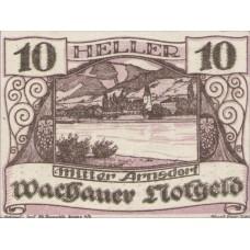 Wachauer Notgeld Mitter-Arnsdorf Gemeinde, 1x10h, 1x20h, 1x50h, Set of 3 Notes, FS 1122.6IIa