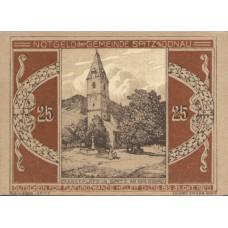 Wachauer Notgeld N.Ö. Gemeinden, 1x25h, 1x40h, 1x60h, 1x75h, Set of 4 Notes, FS 1122.1IIIa