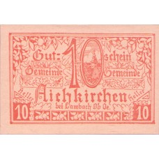 Aichkirchen O.Ö. Gemeinde, 1x10h, 1x20h, 1x50h, Set of 3 Notes, FS 11