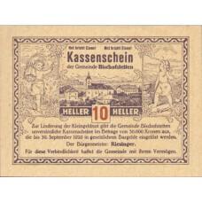 Bischofstetten N.Ö. Gemeinde, 1x10h, 1x20h, 1x50h, Set of 3 Notes, FS 92a