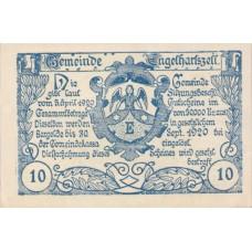 Engelhartszell O.Ö. Gemeinde, 1x10h, 1x20h, 1x50h, Set of 3 Notes, FS 172a