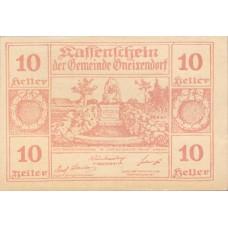 Gneixendorf N.Ö. Gemeinde, 1x10h, 1x20h, 1x50h, Set of 3 Notes, FS 241Ib3