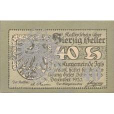 Igls, Tirol, Kurgemeinde, 40 Heller, FS 403SSb