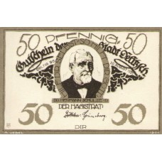 Delitzsch Stadt, 6x50pf, Set of 6 Notes, 262.1