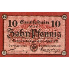 Eckartsberga Thür. Stadt, 1x10pf, Set of 1 Notes, 305.1