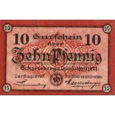 Eckartsberga Thür. Stadt, 1x10pf, Set of 1 Notes, 305.1