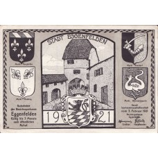Eggenfelden Bezirkssarkasse, 1x50pf, Set of 1 Notes, 309.1
