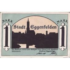 Eggenfelden Stadt, 1x25pf, 1x1mk, Set of 2 Notes, 310.1