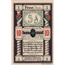 Frose Gemeinde, 1x10pf, Set of 1 Notes, 398.1