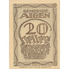 Aigen Sbg. Gemeinde, 1x10h, 1x20h, 1x50h, Set of 3 Notes, FS 13a