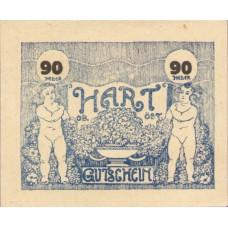 Hart Ortsgemeinde Ortsvorsteher Franz Erssl, 90 Heller, FS 351IIc