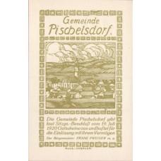 Pischelsdorf O.Ö. Gemeinde, 1x10h, 1x20h, 1x50h, Set of 3 Notes, FS 752z