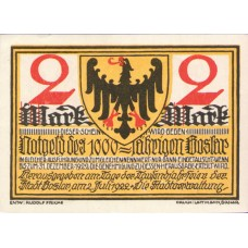 Goslar Stadt, 5x2mk, Set of 5 Notes, 455.3