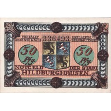 Hildburghausen, 2x50pf, Set of 2 Notes, 608.2