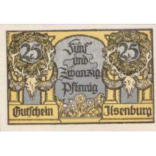 Ilsenburg Gemeinde, 2x25pf, Set of 2 Notes, 644.2c