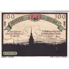 Itzehoe Stadt, 1x50pf, 1x75pf, 1x1mk, Set of 3 Notes, 649.4b