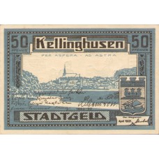 Kellinghusen Stadt, 2x50pf, Set of 2 Notes, 688.2