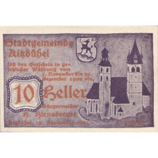 Kitzbühel Tirol Stadtgemeinde, 1x10h, 1x20h, 1x50h, Set of 3 Notes, FS 449g1