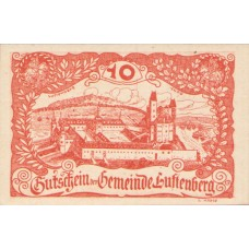 Luftenberg O.Ö. Gemeinde, 1x10h, 1x20h, 1x50h, Set of 3 Notes, FS 570e