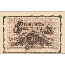Leiben N.Ö. Marktgemeinde, 1x10h, 1x20h, 1x50h, Set of 3 Notes, FS 509