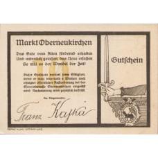 Oberneukirchen O.Ö. Marktgemeinde, 10 Heller, FS 691bF