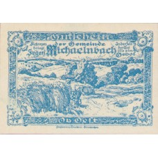 Michaelnbach O.Ö. Gemeinde, 1x10h, 1x20h, 1x50h, Set of 3 Notes, FS 611