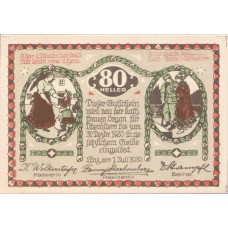 Linz O.Ö. Prv. Kath.Frauen-Organisation, 1x30h, 1x50h, 1x80h, Set of 3 Notes, FS 535