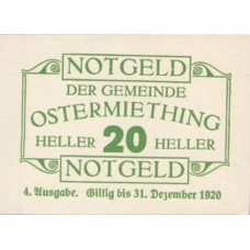 Ostermiething O.Ö. Gemeinde, 1x20h, 1x40h, 1x50h, 1x75h, Set of 4 Notes, FS 713IVc