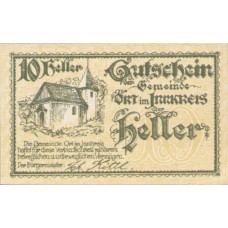 Ort im Innkreis O.Ö. Gemeinde, 1x10h, 1x20h, 1x50h, Set of 3 Notes, FS 711a