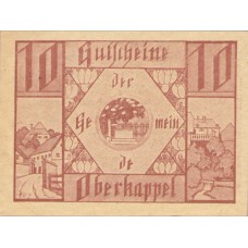 Oberkappel O.Ö. Gemeinde, 1x10h, 1x20h, 1x50h, Set of 3 Notes, FS 684a