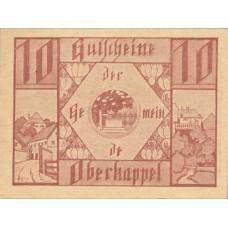 Oberkappel O.Ö. Gemeinde, 1x10h, 1x20h, 1x50h, Set of 3 Notes, FS 684a