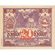 Oberschlierbach O.Ö. Gemeinde, 1x20h, 1x30h, 1x50h, Set of 3 Notes, FS 694d