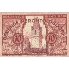 Perchtoldsdorf N.Ö. Gemeinde, 1x10h, 1x20h, 1x50h, Set of 3 Notes, FS 728