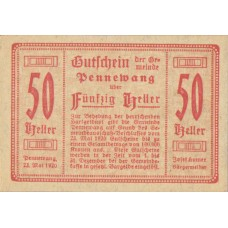 Pennewang O.Ö. Gemeinde, 1x10h, 1x20h, 1x50h, Set of 3 Notes, FS 727c