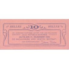 Raffings N.Ö. Gemeinde, 1x10h, 1x20h, 1x50h, Set of 3 Notes, FS 812