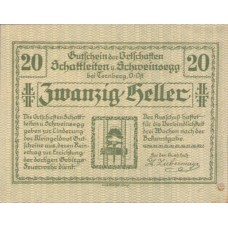 Schattleiten Und Schweinsegg Bei Ternberg, O.Ö., Ortschaften, 1x10h, 1x20h, 1x50h, Set of 3 Notes, FS 956