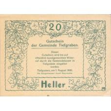 Tiefgraben O.Ö. Gemeinde, 1x20h, 1x30h, 1x50h, Set of 3 Notes, FS 1071