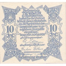 Tragwein O.Ö. Gemeinde, 1x10h, 1x20h, 1x50h, Set of 3 Notes, FS 1075Ia