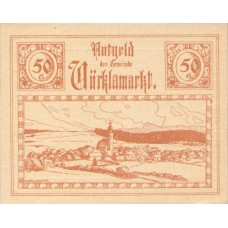 Vöcklamarkt O.Ö. Gemeinde, 1x10h, 1x20h, 1x50h, Set of 3 Notes, FS 1117IIa