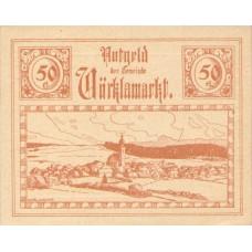 Vöcklamarkt O.Ö. Gemeinde, 1x10h, 1x20h, 1x50h, Set of 3 Notes, FS 1117IIa