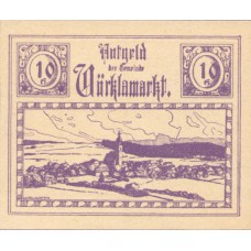 Vöcklamarkt O.Ö. Gemeinde, 1x10h, 1x20h, 1x50h, Set of 3 Notes, FS 1117IIc