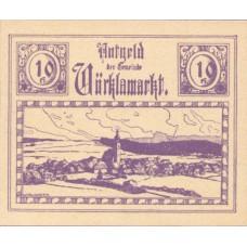 Vöcklamarkt O.Ö. Gemeinde, 1x10h, 1x20h, 1x50h, Set of 3 Notes, FS 1117IIc
