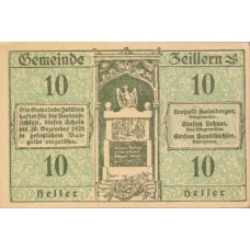 Zeillern N.Ö. Gemeinde, 1x10h, 1x20h, 1x50h, Set of 3 Notes, FS 1263e
