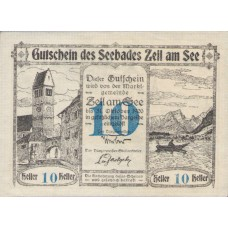 Zell am See Sbg. Marktgemeinde, 1x10h, 1x20h, 1x50h, Set of 3 Notes, FS 1270II