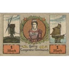 Langeness-Nordmarsch Hallig, 1x20pf, 1x30pf, 1x50pf, 1x75pf, 1x1mk, 1x2mk, Set of 6 Notes, 767.1
