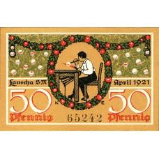 Lauscha Gemeinde, 1x50pf, Set of 1 Note, 777.1b