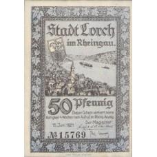 Lorch Stadt, 50 Pfennig, 815.3b
