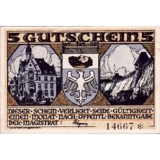 Neheim a.d. Ruhr Gemeinde, 5 Mark, 931.1a