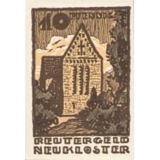 Neukloster Stadt, 1x10pf, 1x25pf, 1x50pf, Set of 3 Notes, 951.1